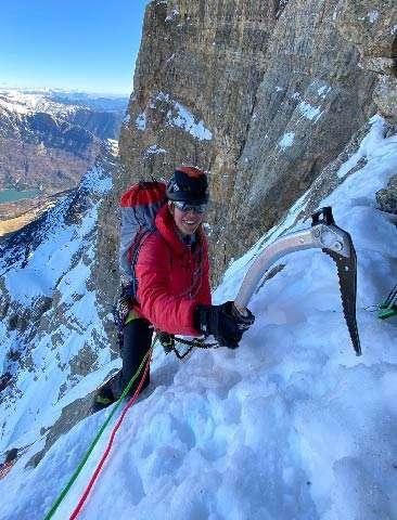 Alpinismo en peña telera